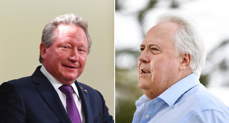 Twiggy v Clive deve tornar o debate climático real e disposto na luta pelos principais assentos marginais de Queensland