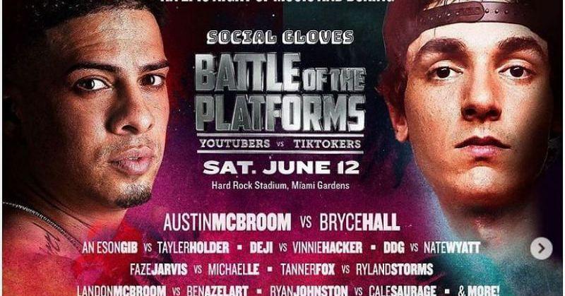 YouTubers vs. TikTokers boxe é o esporte mais quente para uma nova geração