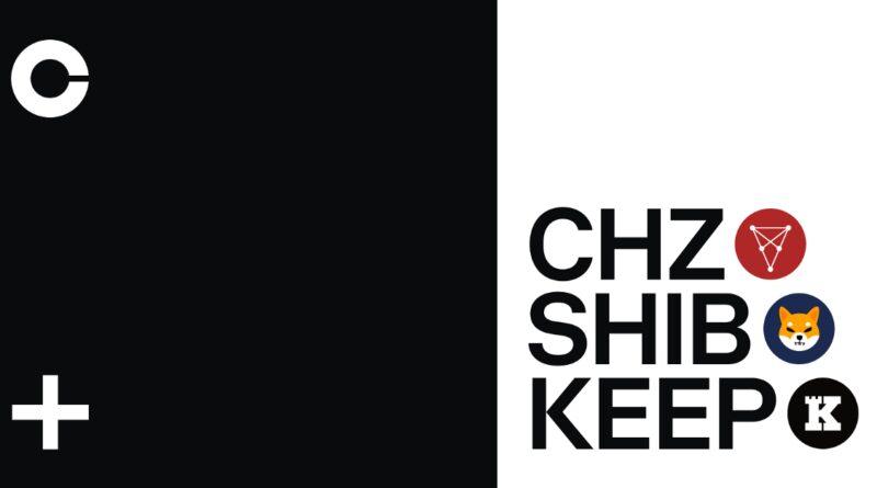 Chiliz (CHZ) Keep Network (KEEP) e Shiba Inu (SHIB) estão sendo lançados no Coinbase Pro
