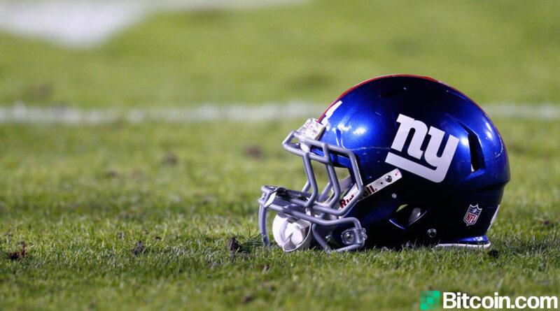 A NFL ganha um gostinho da criptografia como parceira em tons de cinza do New York Giants