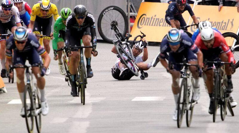 Solicita mudanças, já que o estágio do Tour foi marcado por fortes quedas – Reuters