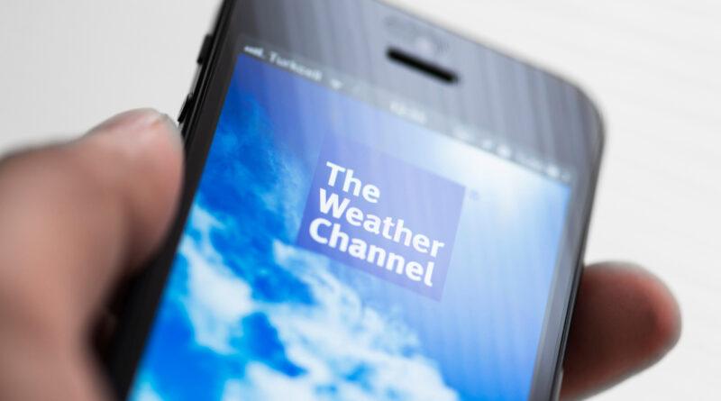O negócio estranhamente sensato da TV meteorológica
