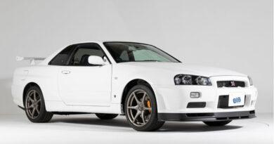 Incrivelmente preservado 2002 Nissan Skyline GT-R V-Spec II é como novo
