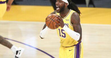 Montrezl Harrell não parece feliz com seu papel no Lakers