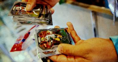 A ascensão e o colapso do império de cartas esportivas de um cambista