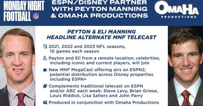 A transmissão MNF de 'all-Manning' de Peyton e Eli será incrível ou terrível além da crença