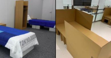 As Olimpíadas de Tóquio instalaram camas de papelão anti-sexo e os atletas estão prontos para testá-las