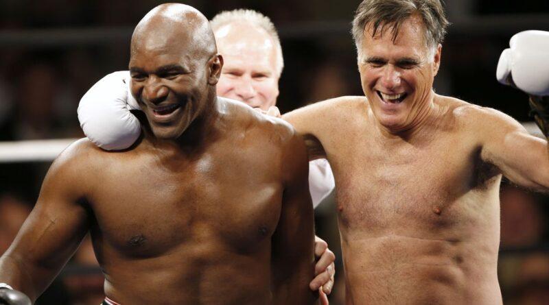 De Romney a Trudeau: a história política do boxe de celebridades