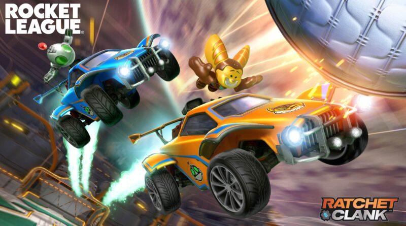 Rocket League está recebendo alguns cosméticos crossover Ratchet & Clank