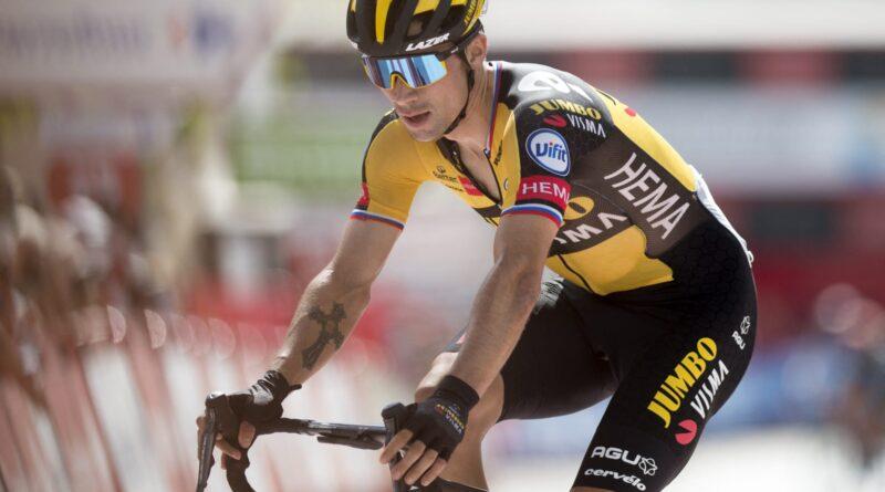 Eiking permanece no vermelho enquanto Roglic vence a segunda fase em 2021 La Vuelta a Espana