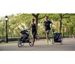 Treino com as crianças: Puma e Cybex lançam coleção de carrinhos voltados para pais ativos