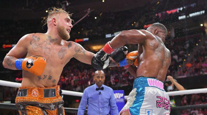 Jake Paul diz que se aposentou do boxe