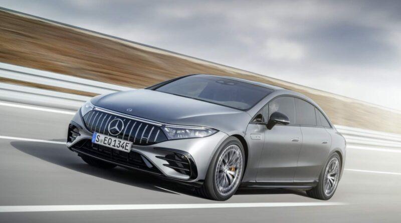 Sedan de luxo de desempenho totalmente elétrico Mercedes-AMG EQS chega a 751 cavalos