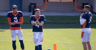 O Broncos jogou sem um QB por causa do pior plano da Covid de todos os tempos