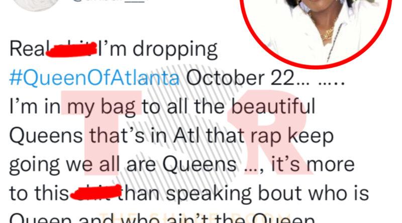 """Akbar V compartilha uma série de tweets sobre o título """"Rainha de Atlanta"""""""
