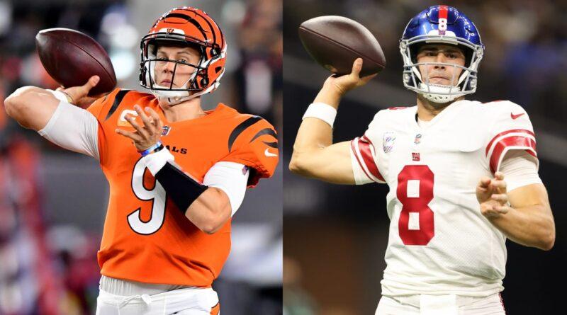 Bengals QB Joe Burrow e Giants QB Daniel Jones lideram os jogadores da semana – NFL.com