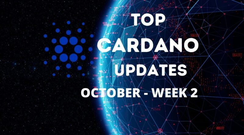 Principais atualizações de Cardano ($ ADA)    Cardano se aventura em inteligência artificial (IA)    Outubro, semana 2