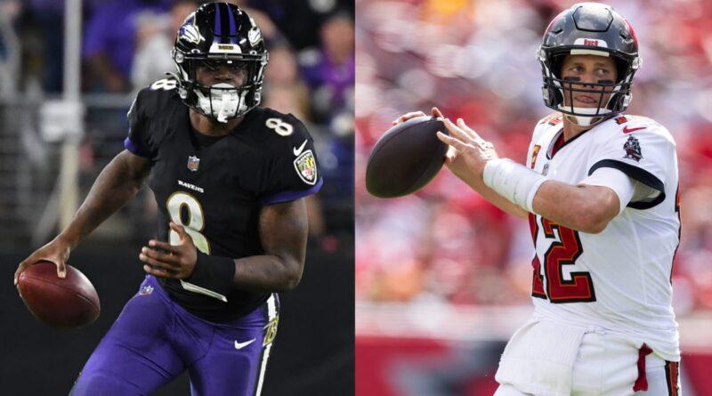 Ravens QB Lamar Jackson e os Buccaneers QB Tom Brady lideram os jogadores da semana – NFL.com