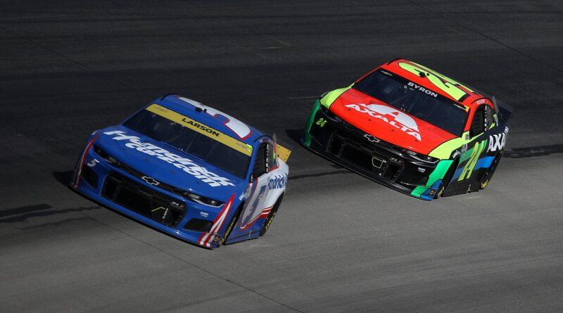 """Byron está fora dos playoffs da NASCAR, mas """"veio para ficar"""""""