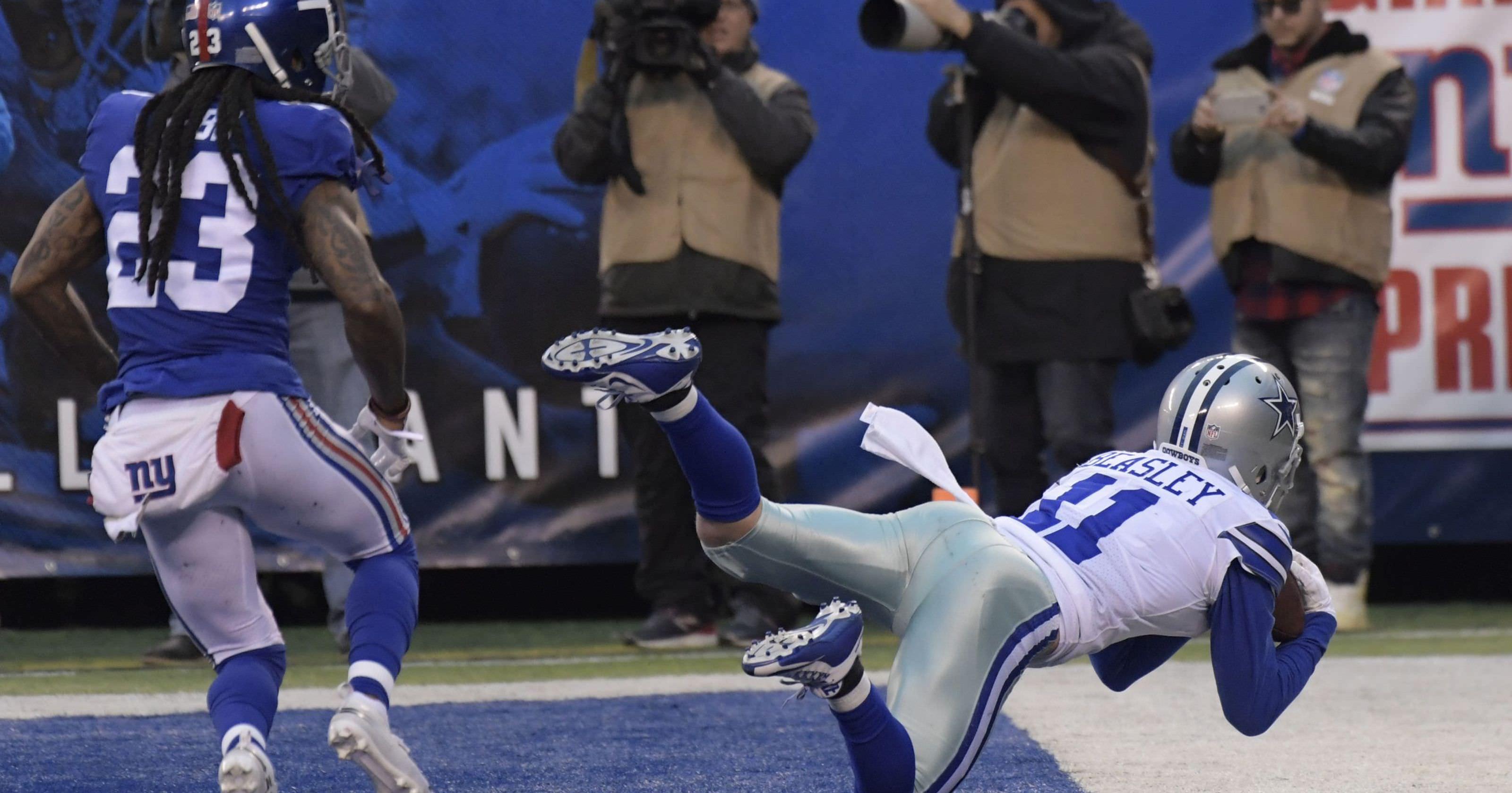 Prescott joga 4 TDs, Cowboys se reúnem para vencer o Giants