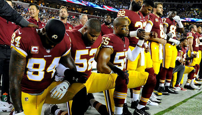 Trump oferece ramo de oliveira para jogadores da NFL com entrada em perdões
