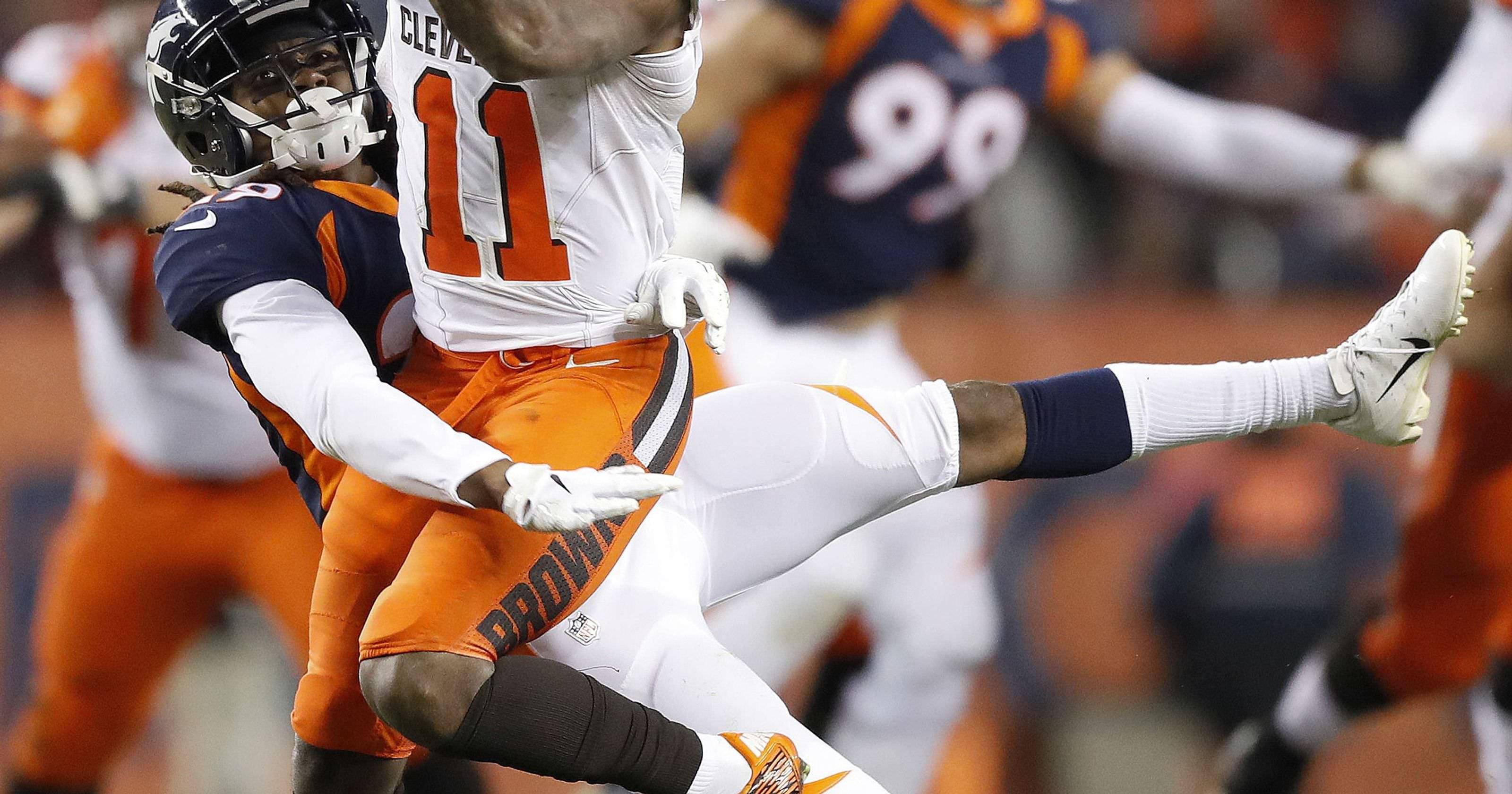 Cleveland Browns venceu Broncos 17-16