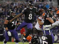 RGIII compara o jogo de corrida dos Ravens ao Jordan fadeaway