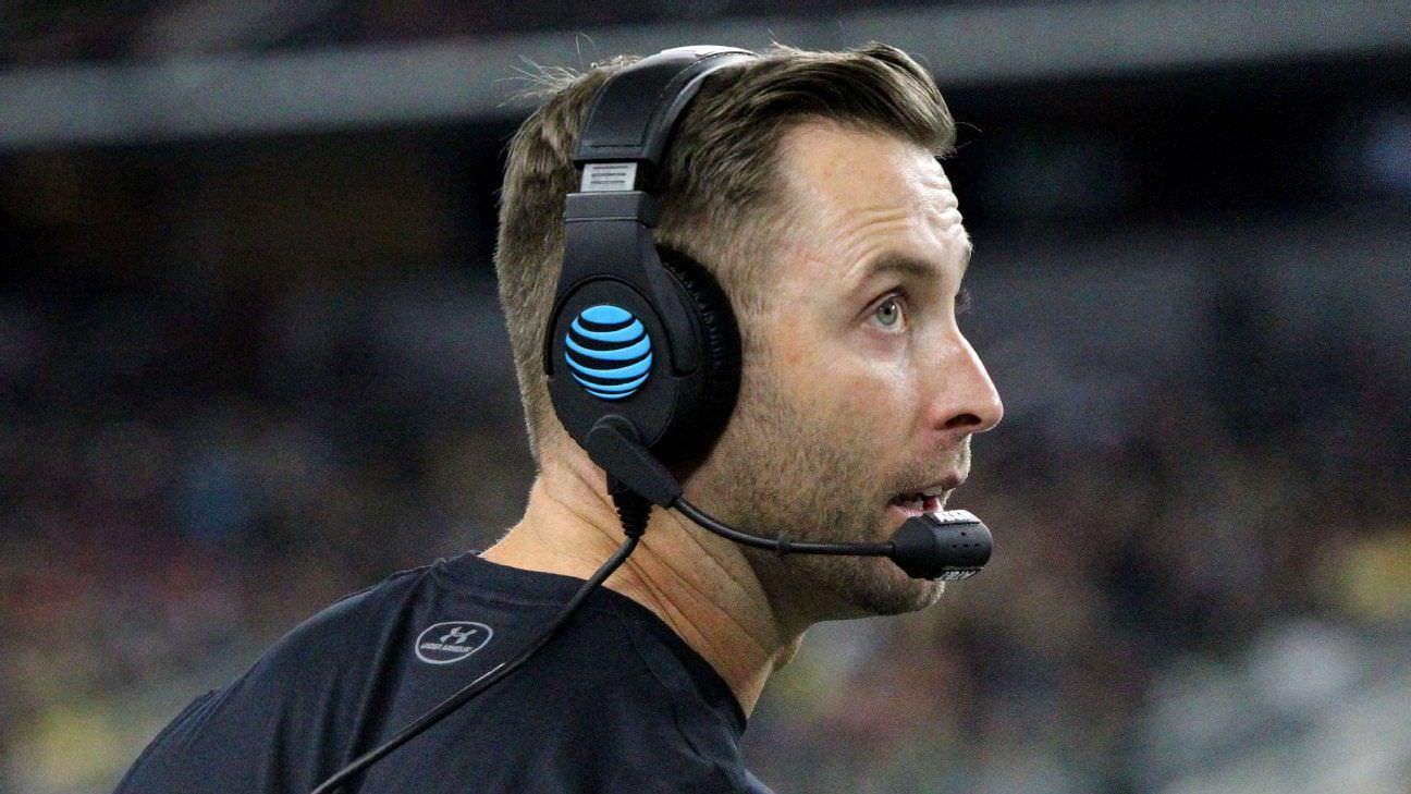 Fontes: USC bloqueando Kingsbury das conversações da NFL