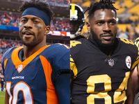 Sanders: WR Antonio Brown desrespeitou Steelers