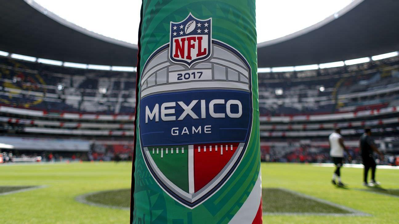 Chefes agendados para jogar na Cidade do México novament