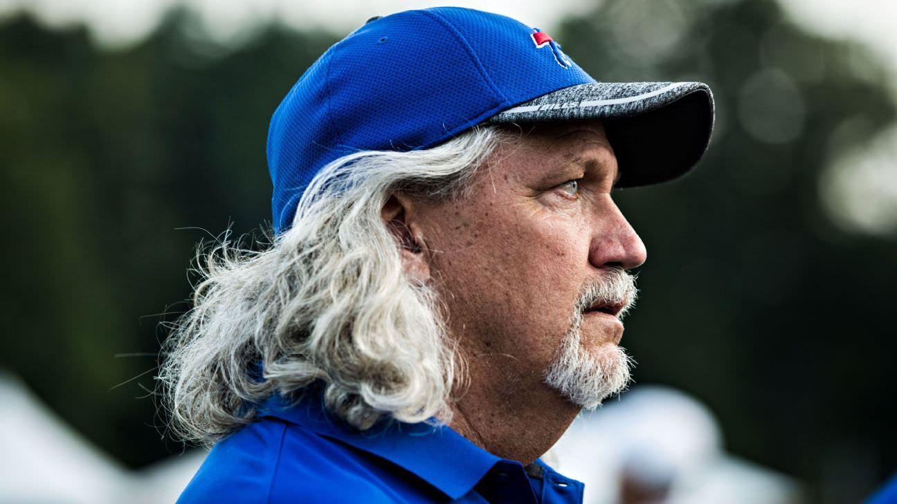 Rob Ryan nomeou o treinador dentro de linebackers de Skins