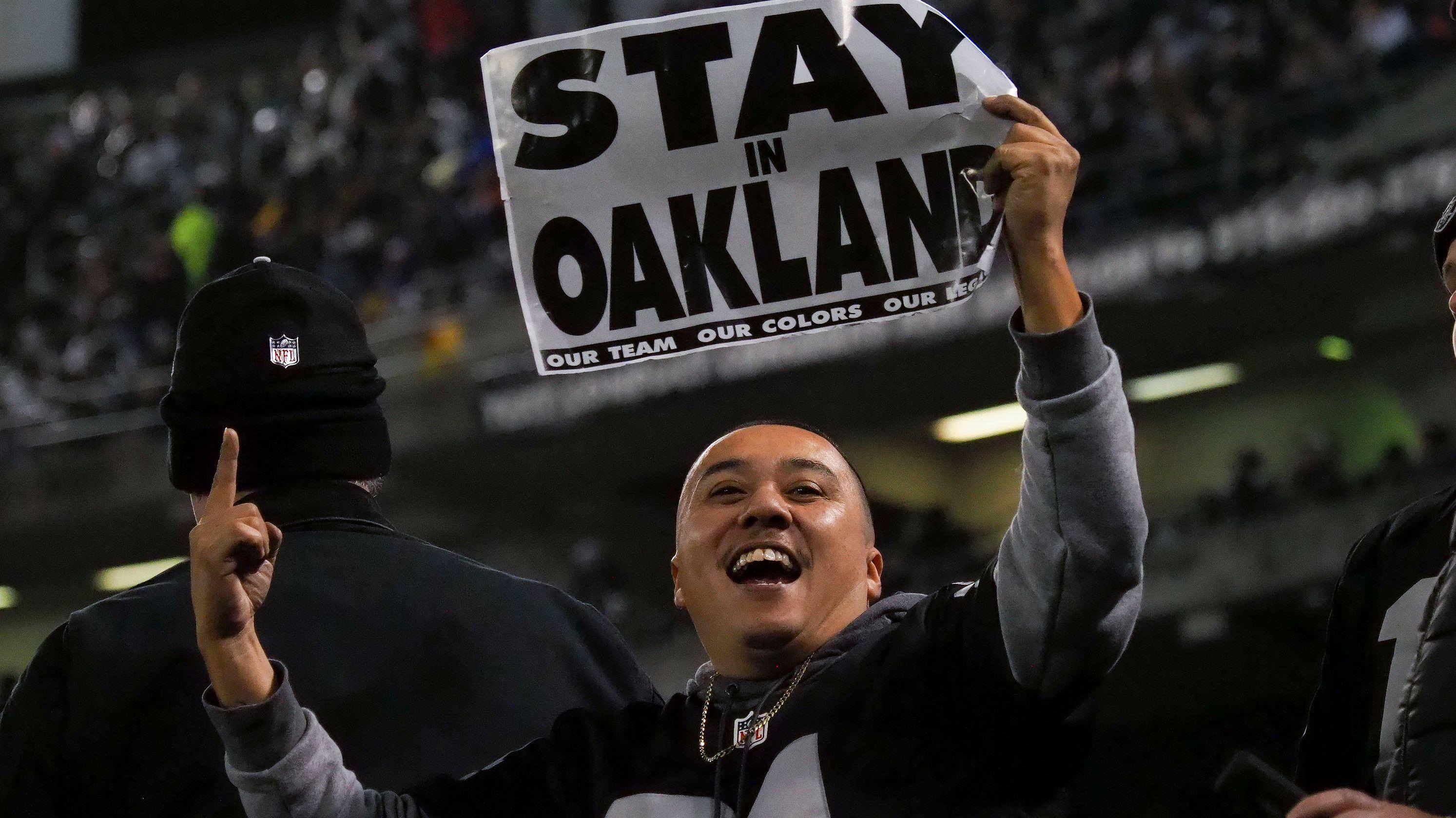 Raiders se reunirão com o Coliseum Authority para prorrogar o aluguel de Oakland