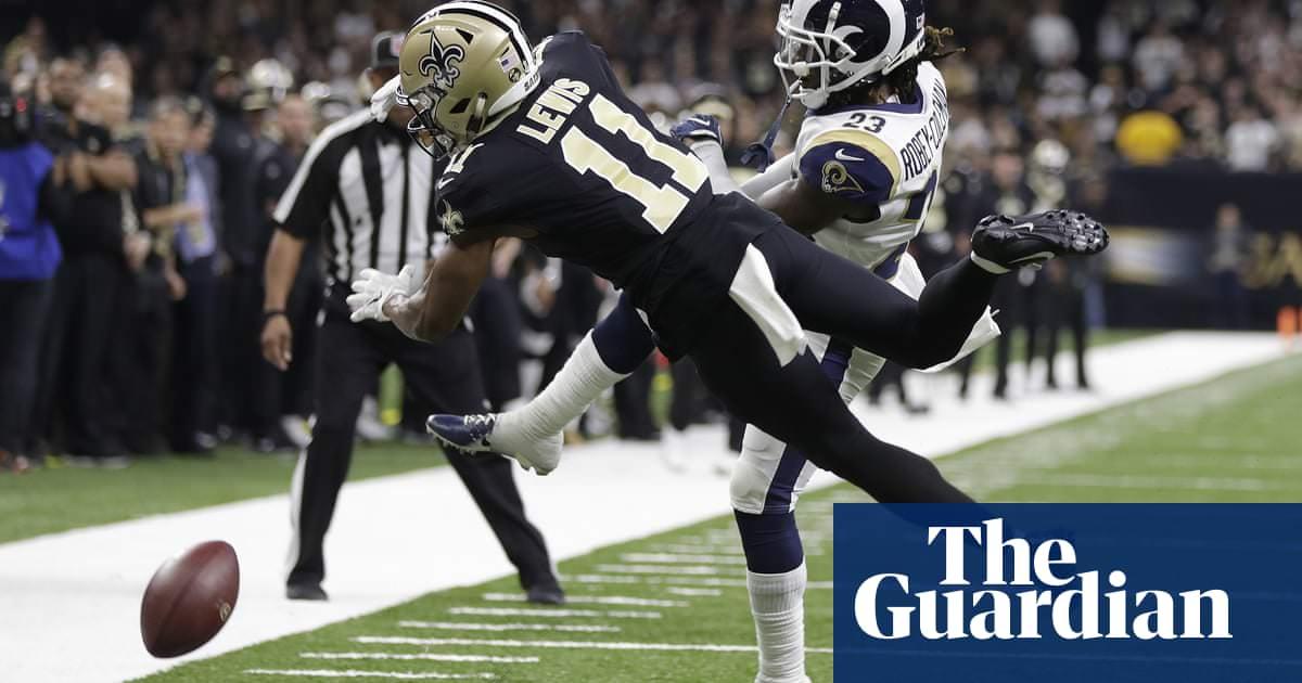 Juiz demite pedido dos fãs para repetir jogo do campeonato NFC após chamada perdida