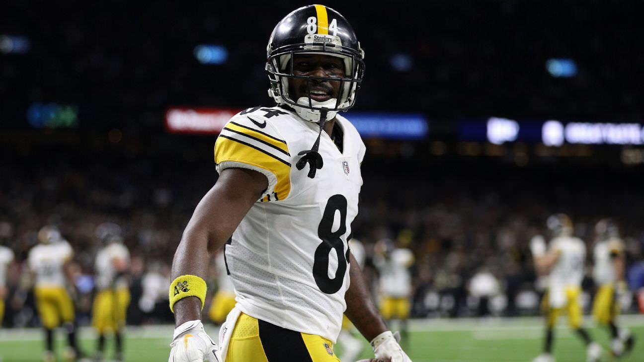 O que os Steelers podem obter por Antonio Brown, consequências financeiras, linha do tempo