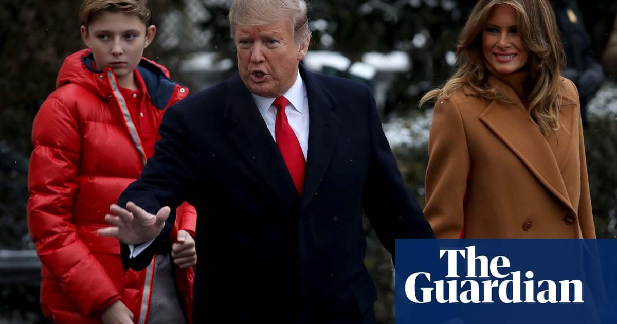 Super Bowl: Donald Trump teria dificuldade em deixar o filho jogar futebol