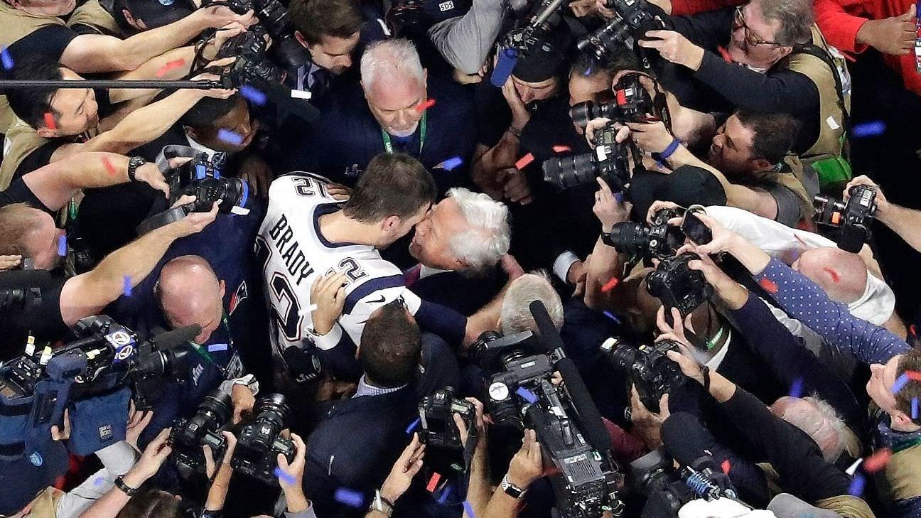 Patriotas, Tom Brady, reescrevem o livro de recordes do Super Bowl