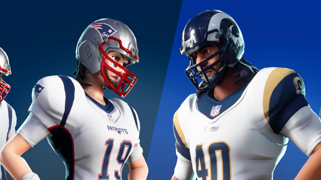 Fortnite NFL Skins voltando para o fim de semana do Super Bowl