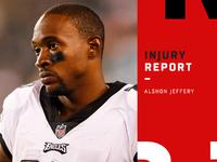 Lesões: Jeffery acha que ele vai perder mais algumas semanas – NFL.com
