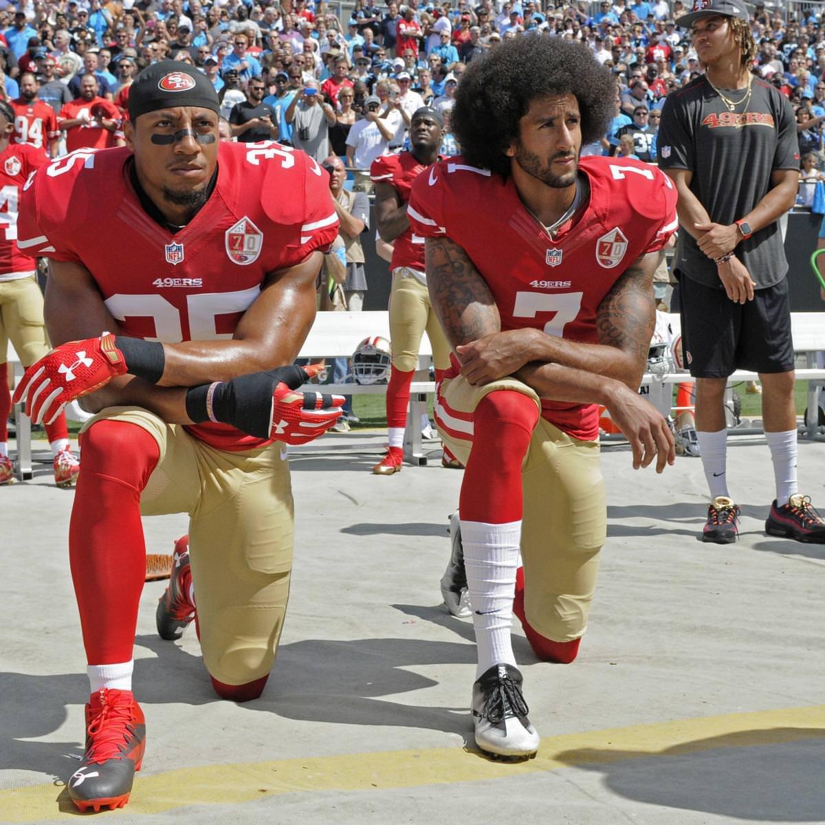 Colin Kaepernick, Eric Reid resolver queixas com NFL no caso de colusão
