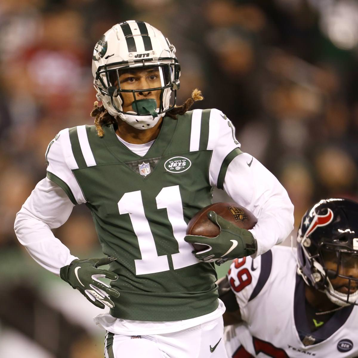 Rumores dos Jets: Robby Anderson recebe designação da segunda rodada de Nova York