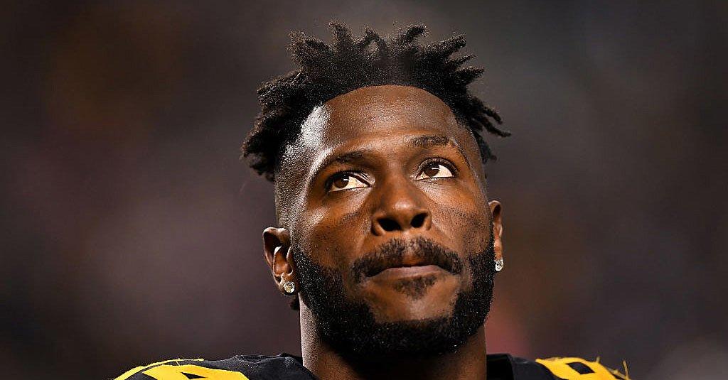 Boatos de NFL: Antonio Brown para contar para $ 21,12M de encontro ao tampão dos Steelers em 2019