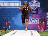 Lawrence sofre lesão na perna aparente em NFL Combine – NFL.com