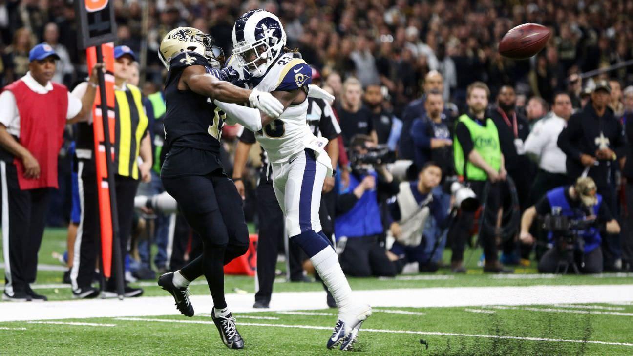 Interferência de passes agora passível de revisão por funcionários da NFL