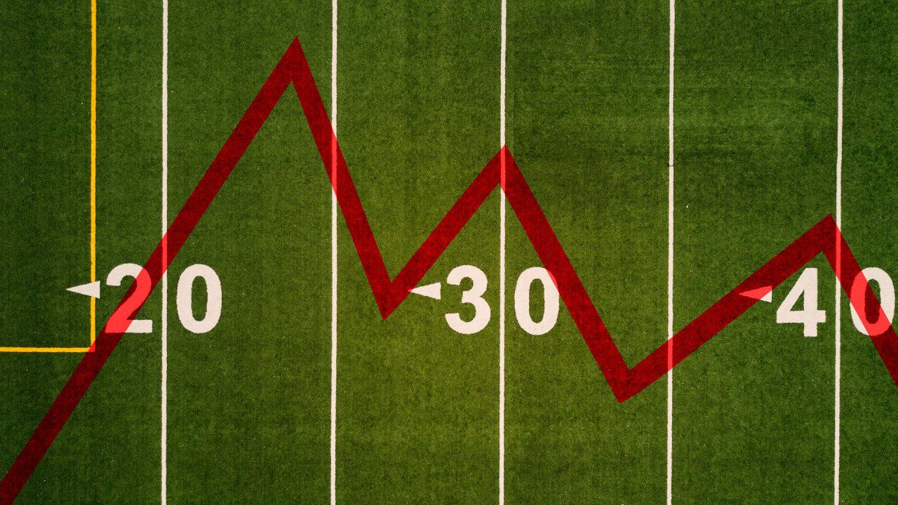 Controvérsia da Nike ou não, as avaliações da NFL provavelmente continuarão caindo