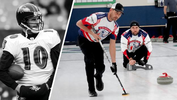 De bolas a pincéis – conheça os ex-profissionais da NFL com o objetivo de abrir caminho para as Olimpíadas de Inverno