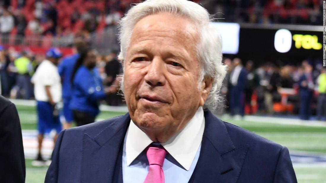 Proprietários da NFL deixarem o caso de Kraft antes de decidirem sobre punição, disseram fontes