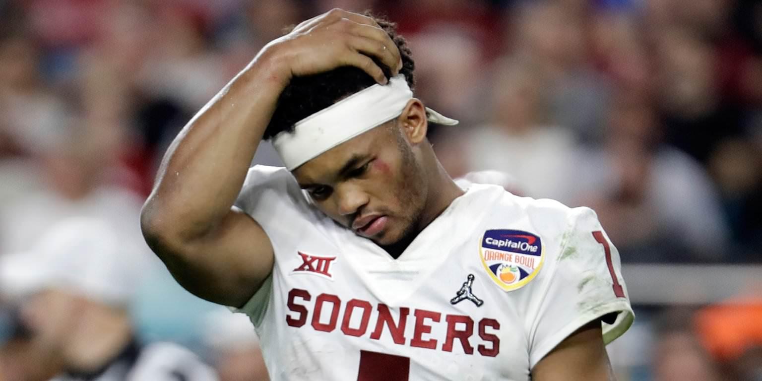 Especialista da NFL Draft agora projetando Oklahoma QB Kyler Murray para ser a escolha número 1, mas há um problema