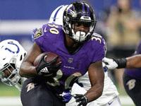 Ravens coloca Kenneth Dixon (joelho) na reserva lesionada – NFL.com