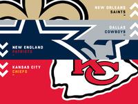 Hierarquia da liga pós-projeto: Nova equipe número 1 – NFL.com