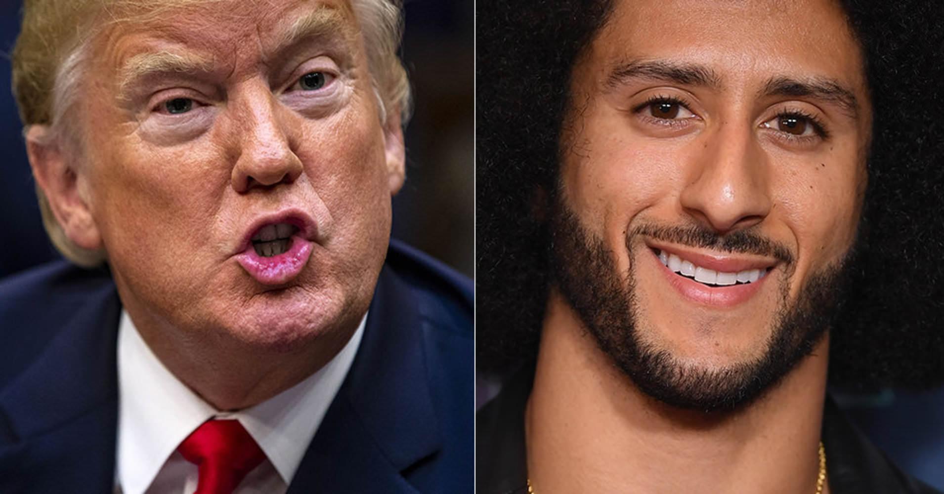 Trump Chimes no anúncio de Kaepernick da Nike (alerta de spoiler: ele não está feliz)
